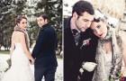 Свадебные прически в одном стиле