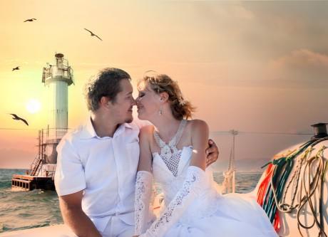 Подбирай аксессуары под свадебное платье