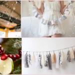 Из бумаги, салфеток, фруктов и даже пуговиц ты легко можешь смастерить гирлянду в тему свадьбы