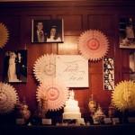 Фото, книга пожеланий, миниатюрные сувениры - все может поместиться у одной лишь специально оборудованной стены