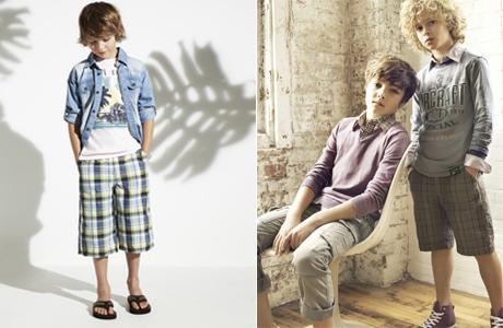 Детская мода - одежда для мальчиков