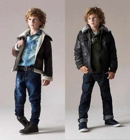 Детская мода - джинсы