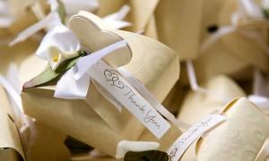 Съедобные бонбоньерки на свадьбу