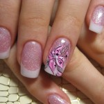 Нежный розовый оттенок