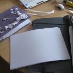 Подготовь белые или цветные листы по размеру А5