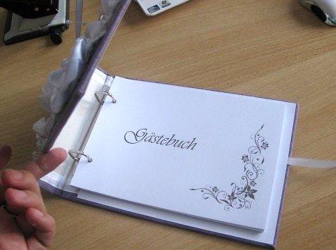Свадебная книга пожеланий своими руками листы