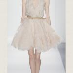 Идеальное маленькое белое свадебное платье