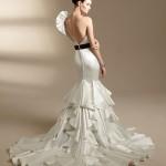 Шикарный дизайн свадебного платья