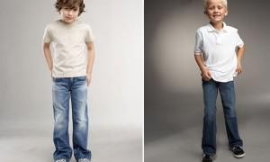 Мальчик в джинсах