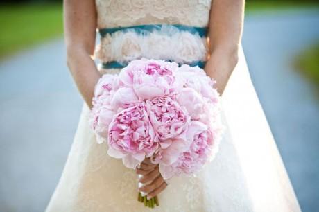 Весенние свадебные букеты 2012