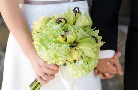 Небелоснежный букет невесты
