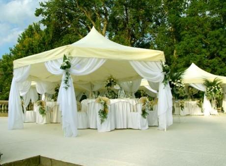 Модное оформление свадьбы