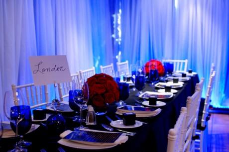 Текстиль в оформлении зала для свадьбы