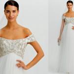 Одно из самых романтичных и женственных свадебных платьев.