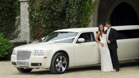 Лимузин для свадебного кортежа