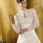 Кружевной верх для романтического образа невесты