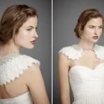 Воротник превращается в стильный аксессуар, доступный каждой невесте
