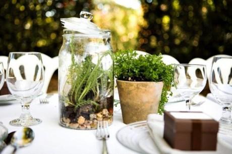 Идеи для свадебного стола - кантри стиль