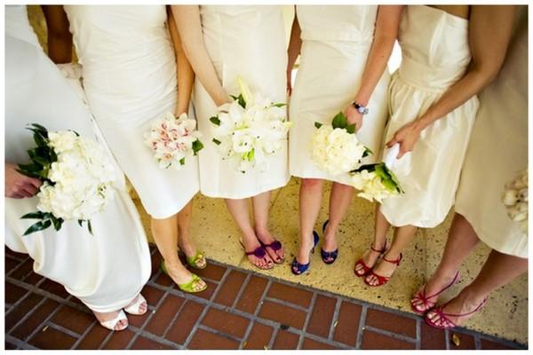 Модные платья для подружек невесты.
