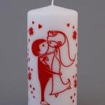 Смешные картинки на свадебных свечах для хорошего настроения