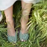 Бледно-зеленые оттенки великолепны для весенней фотосессии