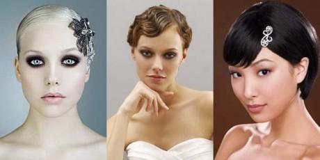Свадебная прическа - мода 2012