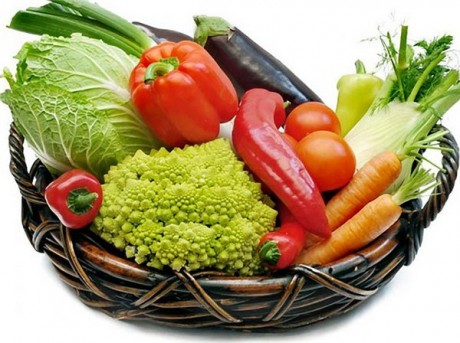 Овощи на весенней свадьбе