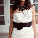 Подбери к цветному поясу красивое ожерелье для совершенного образа невесты