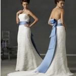 Двойная функция пояса для свадебного платья
