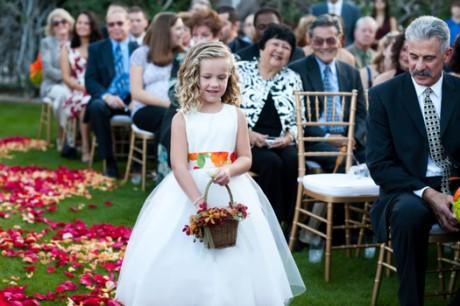 Девочки-цветочницы на свадьбе