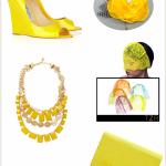 Солнечный желтый в свадебном оформлении
