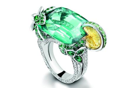 Обручальное кольцо для невесты - огранка камня