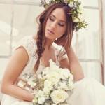 Романтический образ весенней невесты