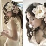 Прекрасный вариант для темноволосой невесты