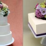 Укрась десерт цветами