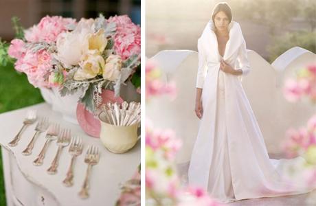 Пальто для весенней свадьбы