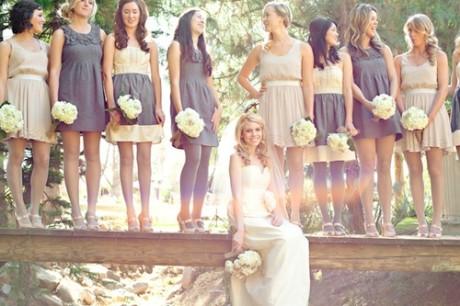Стиль свидетельницы на свадьбе