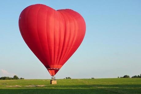 Предложение на воздушном шаре