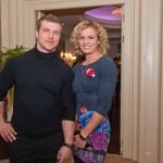 Атлет и телеведущий, член «Профессиональной Лиги Стронгмэнов Украины» и просто красивый мужчина под руку с чемпионкой по многоборью и очаровательной женщиной