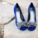Синий - ярко и экстравагантно