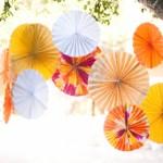 Красочные зонтики для выездной церемонии