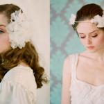 Украшай свадебную прическу нежными белыми цветами