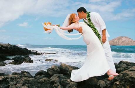 Венчание – на море