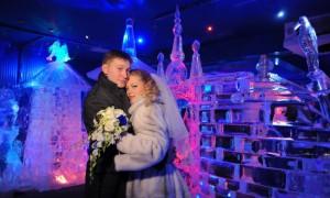 Ледяной храм приглашает жениха и невесту