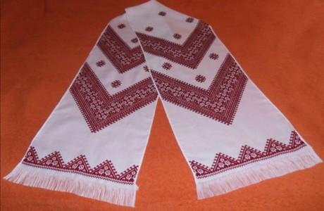 Дизайнерский рушник ручной работы