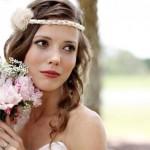Нежно-розовый букет невесты