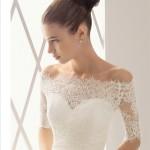Тончайшее кружево для платья невесты