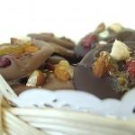 Шоколад, орехи и цукаты