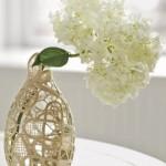 Свяжи чехол для прозрачной вазы