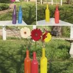 Такие вазы можно сделать и своими руками